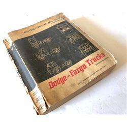 DODGE - FARGO TRUCKS MANUAL