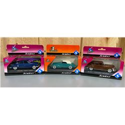 LOT OF 3 SOLIDO DIECAST CLASSIC CARS