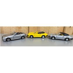 LOT OF 3 DIECAST VEHICLES