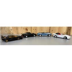 LOT OF 4 CLASSIC RACE CARS