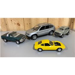 LOT OF 4 MISC DIECAST VEHICLES