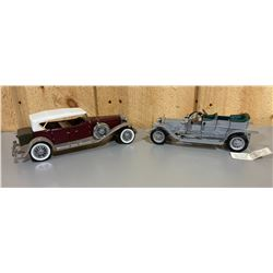 LOT OF 2 DIECAST ROADSTERS