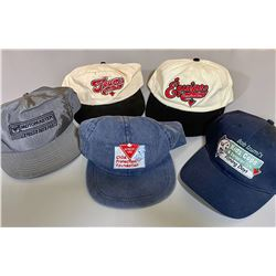 LOT OF 5 COLLECTIBLE CANADIAN TIRE BALL CAPS