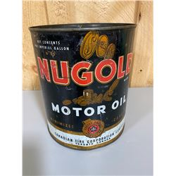 CANADIAN TIRE NUGOLD MOTOR OIL 1 GAL CAN