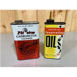 CANADIAN TIRE PENETRATING OIL & CARBURETOR CLEANER
