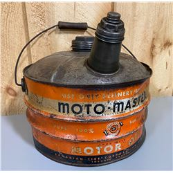 MOTO-MASTER FUEL CAN WITH SPOUT