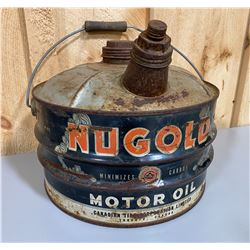 CANADIAN TIRE NUGOLD FUEL CAN WITH SPOUT