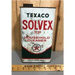 TEXACO SOLVEX 1 GAL TIN