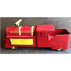 MARX RIDE-ON TOY CABOOSE