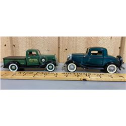 LOT OF 2 DIECAST CLASSIC TRUCKS