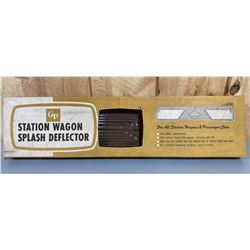 VINTAGE STATION WAGON SPLASH DEFLECTOR - NEW OLD STOCK
