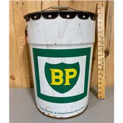 5 GAL BP OIL PAIL