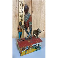 MARX WIND UP TIN TOY WITH ORIG BOX - CHARLESTON TRIO