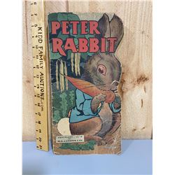1913 PETER RABIT CHILDRENS BOOK
