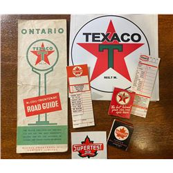 LOT OF TEXACO COLLECTIBLES