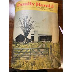 1968 - FINAL EDITION OF THE HERALD FARM MAGAZINE