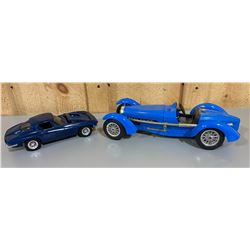 LOT OF 2 PLASTIC AUTO MODELS
