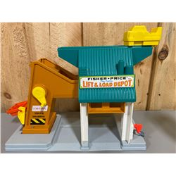 FISHER PRICE LIFT & LOAD DEPO