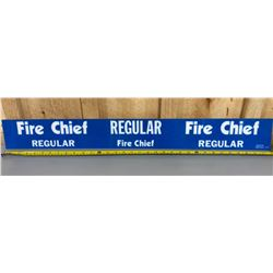 TEXACO FIRE CHIEF ACRYLIC SIGN