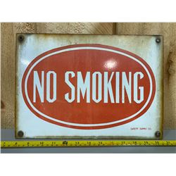 NO SMOKING SSP SIGN
