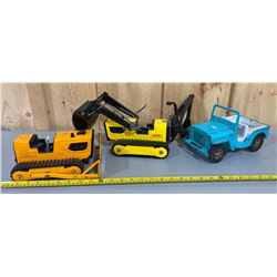 LOT OF 3 TONKA TOYS