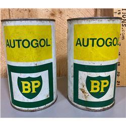 BP AUTOGOL TINS - FULL 1 QT SIZE