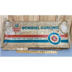 WHITE ROSE BONSPIEL CURLING GAME - AS NEW