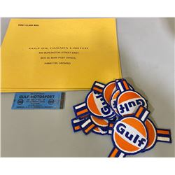 GULF COLLECTIBLES LOT - BADGES, ETC