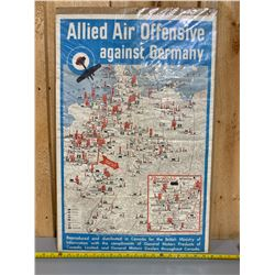 GENERAL MOTORS POSTER - ALLIED AIR OFFENCE
