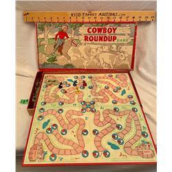 PARKER BROTHERS - COWBOY ROUNDUP - COPYRIGHT 1952