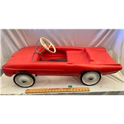 LINES BROS THUNDERBIRD MODEL PLASTIC PEDAL CAR