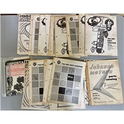 QTY OF VINTAGE OUTBOARD MOTOR CATALOGS