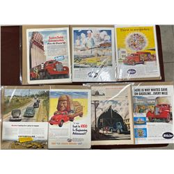 LOT OF 7 MISC TRUCK ADVERTISEMENTS