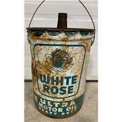 WHITE ROSE 5 GAL HEAVY OIL PAIL