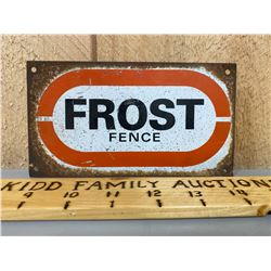 FROST FENCE SSP SIGN