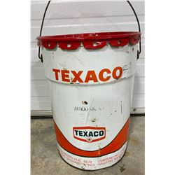 TEXACO 5 GAL PAIL