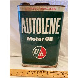 BA AUTOLENE CAN - 2 GAL SIZE