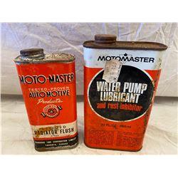 LOT OF 2 MOTO-MASTER LUBE & FLUSH - FULL
