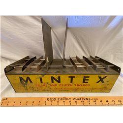 MINTEX PARTS MANUALS DISPLAY - BRAKE & CLUTCH LININGS