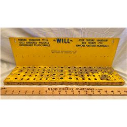 WILL TOOLS SCREWDRIVER DISPLAY RACK - COOKSTOWN