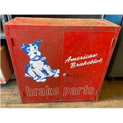 AUTOMOTIVE BRAKE PARTS CABINET