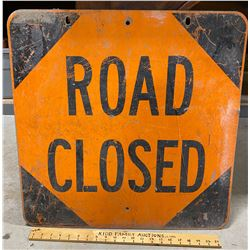 ROAD SIGN - ROAD CLOSED