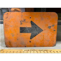 ROAD SIGN - ARROW