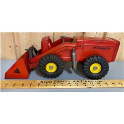 NY-LINT TOY PAY-LOADER WITH DUAL TIRES