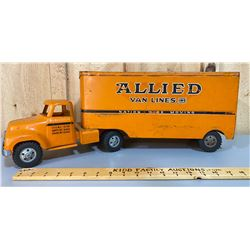 TONKA ALLIED VAN LINES TOY MOVING TRUCK