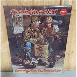 "REMINGTON SST SIGN - REPRO - 13"" X 17"""