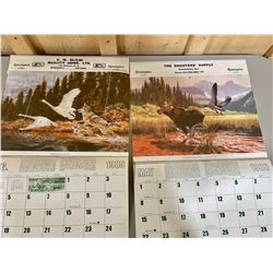 LOT OF 2 REMINGTON CALENDARS - FULL