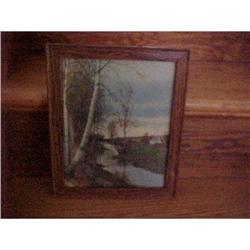 """Print, signed, """"The Meadow Brook #1251733"""