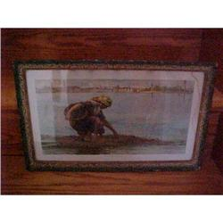 """Litho--""""At The Ebb Of The Tide"""" #1251734"""