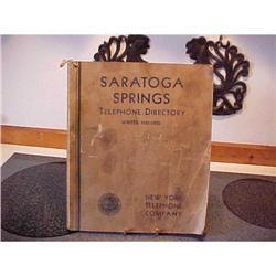Telephone Directory,Saratoga Springs #1251744